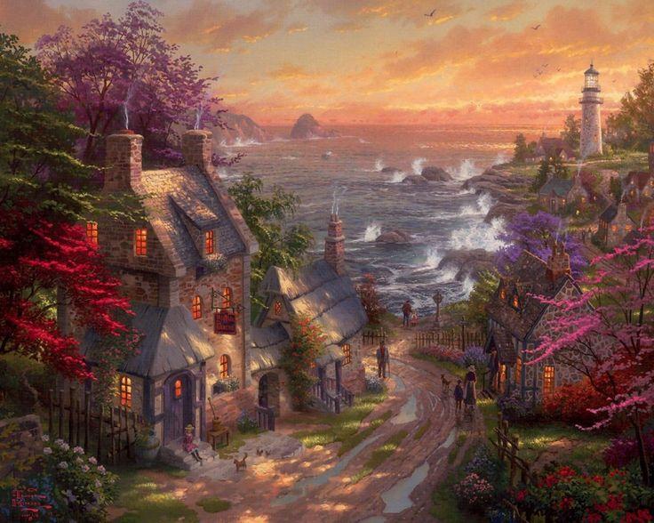 красочные картинки пейзажи тяжкое для родины