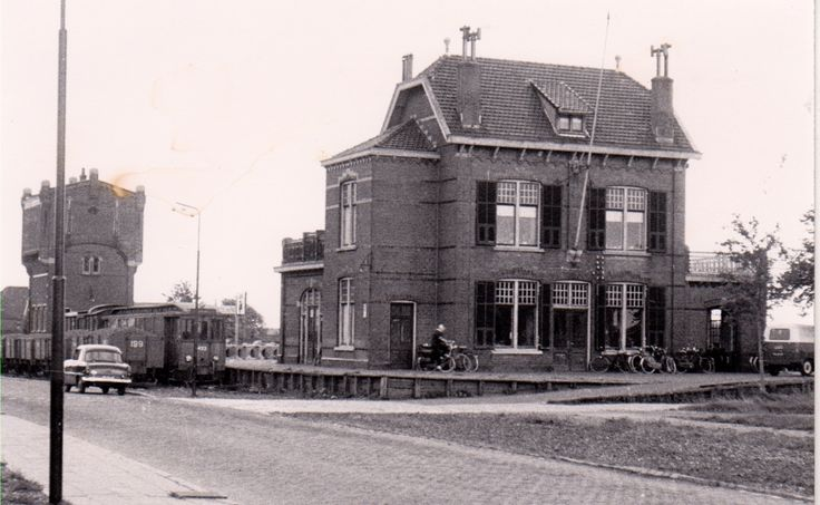 Het voormalige station Middelharnis