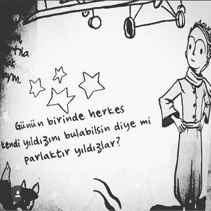 Günün birinde herkes kendi yıldızını bulabilsin diye mi parlaktır yıldızlar. - Antoine de Saint Exupery / Küçük Prens #sözler #anlamlısözler #güzelsözler #manalısözler #özlüsözler #alıntı #alıntılar #alıntıdır #alıntısözler #kitap #kitapsözleri #kitapalıntıları #edebiyat #thelittleprince #lepetitprince