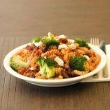 Fusilli met broccoli en Italiaanse spek
