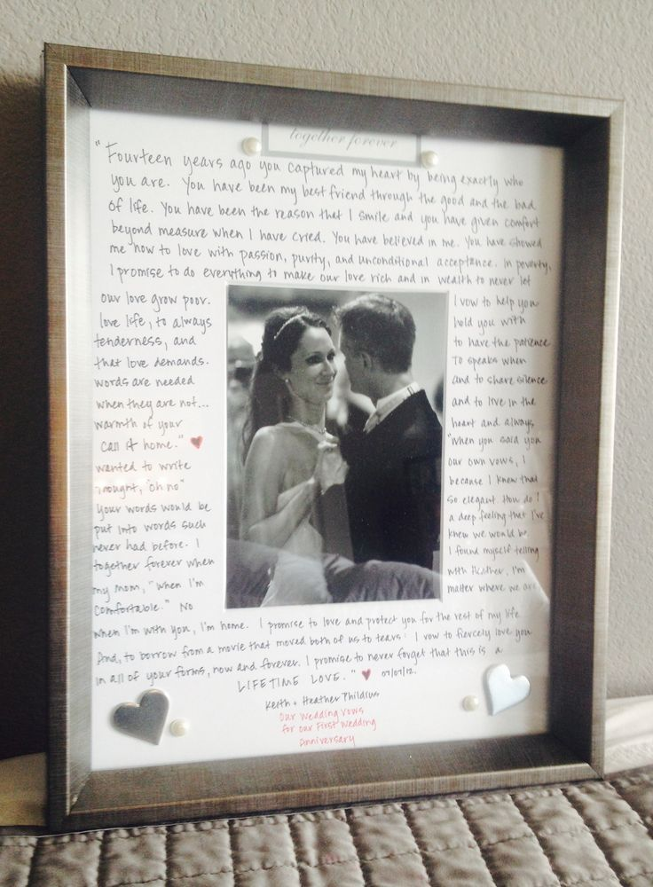 Anniversary Wedding Gifts