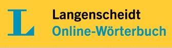 Langenscheidt Online-Wörterbuch