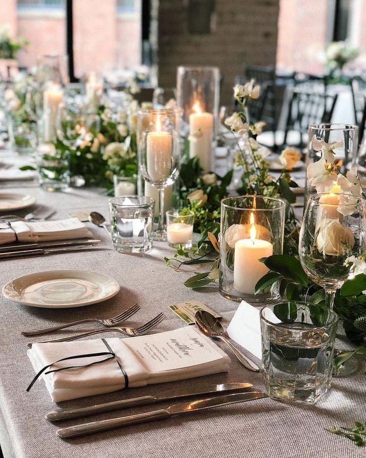 40 Incroyable décoration de mariage Weihnachtsstimmung – #weddingdecorideasBoho #weddingd …