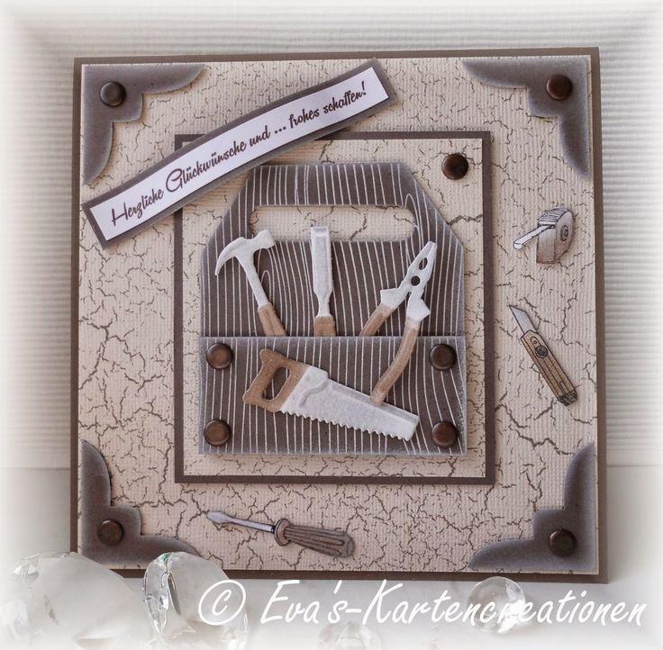 Eva's card creations: Hobbyhof Challenge # 9