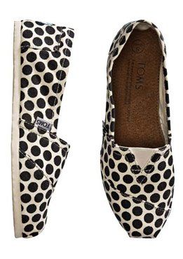 I do love TOMS and I do love polka dots!!!  #TOMS #polkadots: Polka Dots, Shoes Web, Swing Shoe, Dot Toms, Toms Shoes, Polkadots, Toms Polka, Shoes Oneforone