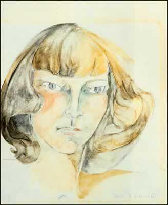 zelda fitzgerald self-portrait