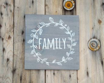 Wooden sign Hope Wood signs sayings Handpainted by CountryPallets