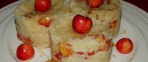 Sladký kuskus s třešněmi