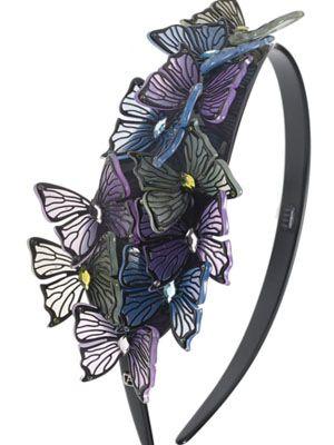 Headband Alexandre de Paris hand made in France. Swarovski elements. Timeless.