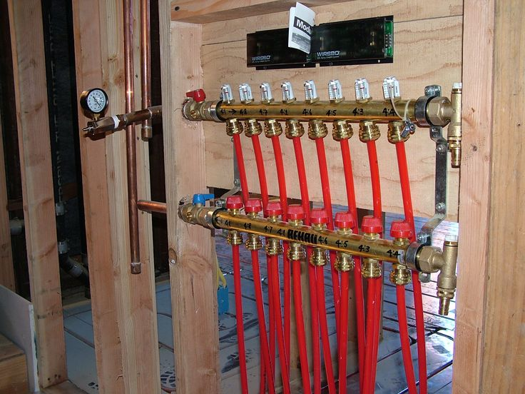 manifold setup radiant heatnew builds - Electric Radiant Floor Heating