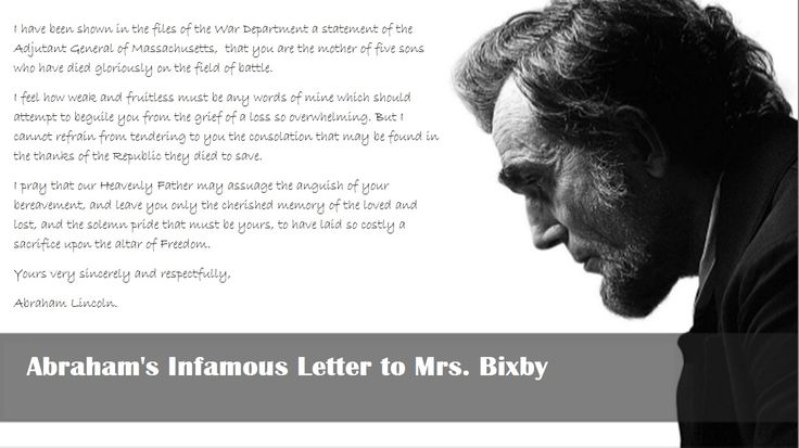letter abraham lincoln mrs bixby 17 best ideas about bixby letter on abraham 13109