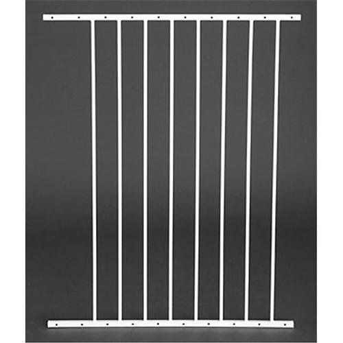 Expands your Carlson pet gate 24 inches wider. Only compatible with [Carlson Maxi Extra Tall Pet Gate][].  [Carlson Maxi Extra Tall Pet Gate]: http://www.chewy.com/dog/carlson-pet-products-maxi-extra-tall/dp/43479