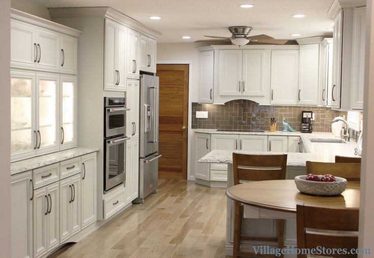A Blue Grass, IA Kitchen Is Remodeled Completely From Start To Finish By  Village Home Stores. Design By Chris Robinson With Work From Durian  Builders.
