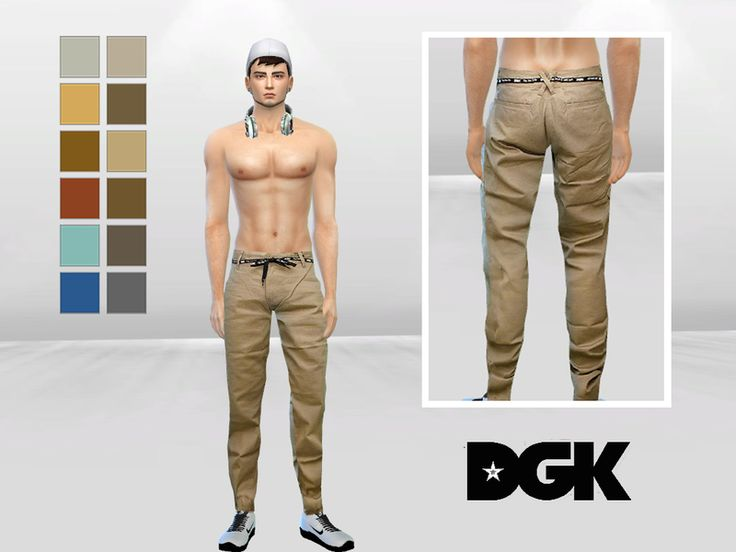 McLayneSims' Spears Belted Urban Chinos