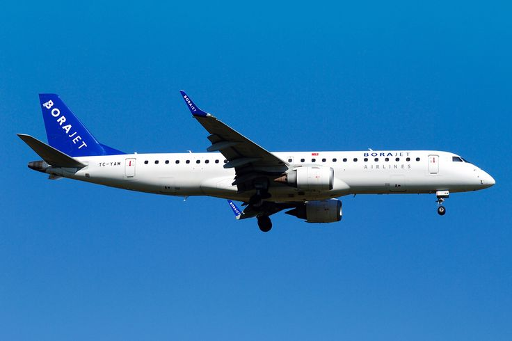 Embraer 190 Borajet Airlines from Istanbul