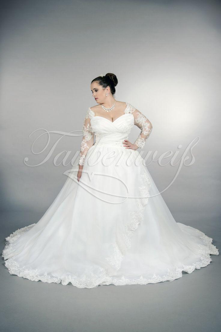 Beste Langärmelige Brautkleider Plus Size Bilder - Brautkleider ...