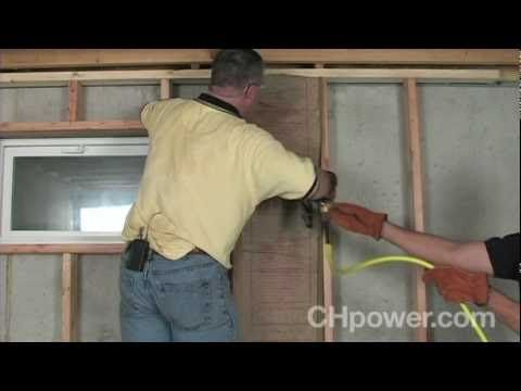 Wish you could transform your basement into more useful living space? This Campbell Hausfeld project video will show you how to start a basement remodel by f...