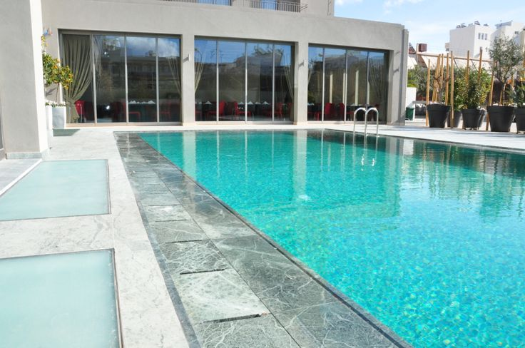 Pool of Samaria Business Hotel in #Chania #Crete