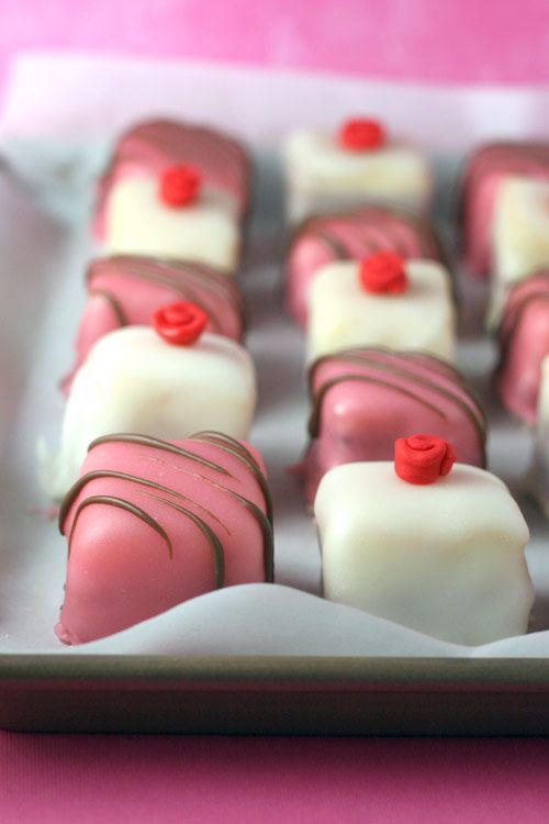Real Petit Fours... #1 on my baking bucket list.  If I succeed in making them, I hope I don't go mad with power.  Or hyperglycemia.