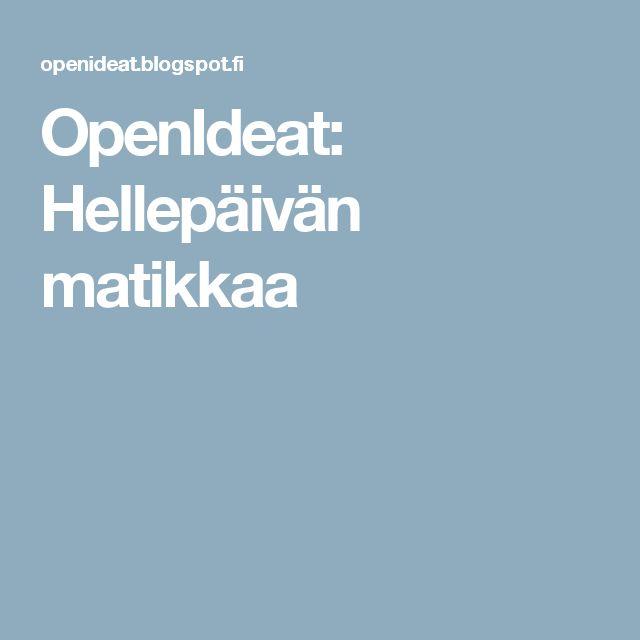 OpenIdeat: Hellepäivän matikkaa