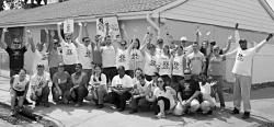 Great coverage of #race2rebuild in Gerritsen Beach, rebuilding with the @Rebuilding Together team!