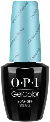 Retro Summer GelColor by OPI | Sailing & Nail-ing Bottle