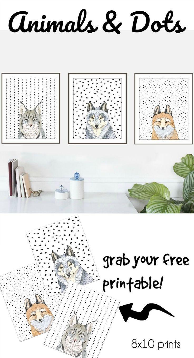 Free Animal Head Printables Free Printable Art Free Art Prints