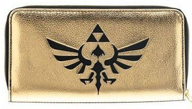 Collectable Wallets! Nintendo Zelda Logo Zip Around Wallet