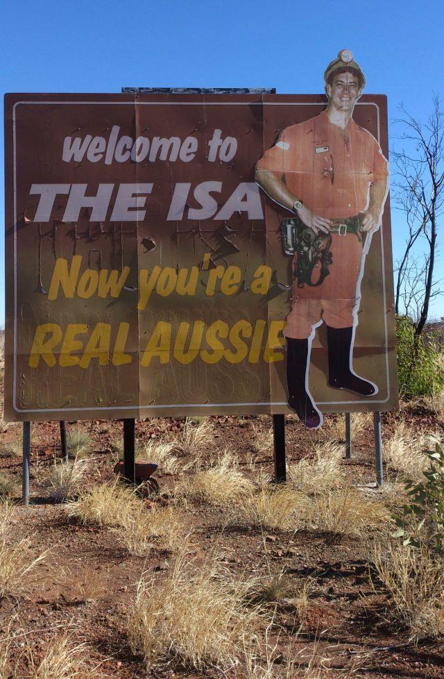 Real Aussie at Mt Isa