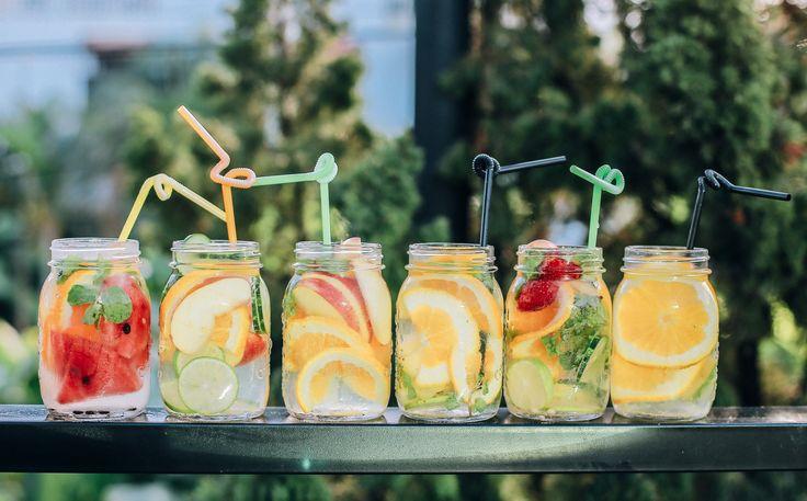 Boissons santé pour rester hydrater tout l'été
