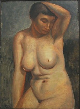 'Torso', öl von André Derain (1880-1954, France)