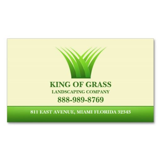 203 best Lawn Care Business Cards images on Pinterest Business