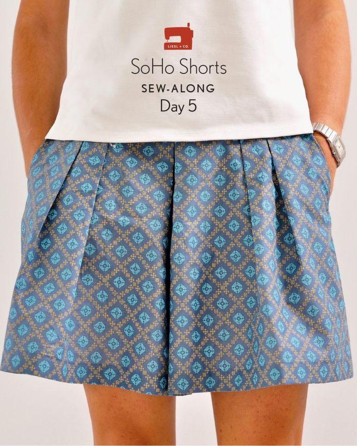 Liesl + Co. SoHo Shorts day 5