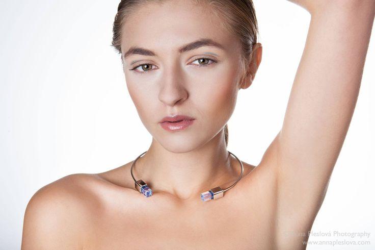 design jewellery, chrome, model, Design by Kateřina Reichová