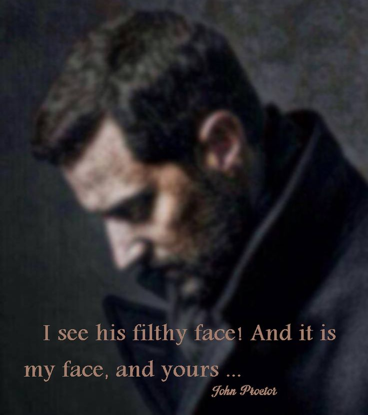 best ghs the crucible images people quotes  richard armitage john proctor quote from the crucible