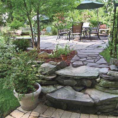 Best Yard Before And Afters 2009. Outdoor RoomsOutdoor GardensOutdoor LivingStone  WalkwaysStone PatiosLandscape ...