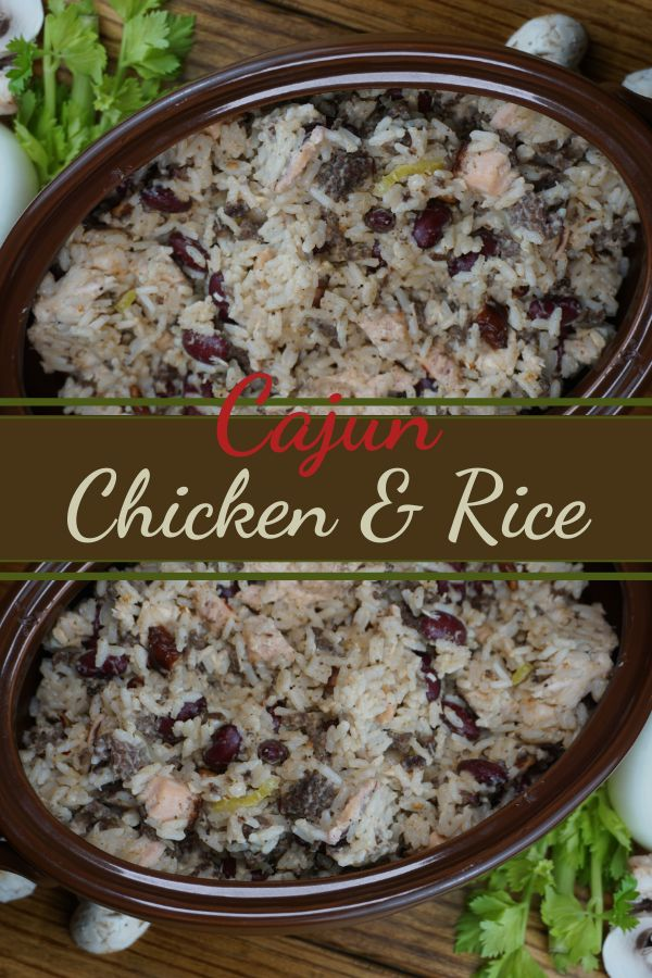 Jun 17, 2020 – This savory Cajun Chicken & Rice has been one of my favorite meal prep recipes for years. I used to cook…