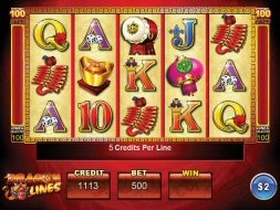 Dragon Lines Video Slot Review At MoneyGaming Casino (Ainsworth)