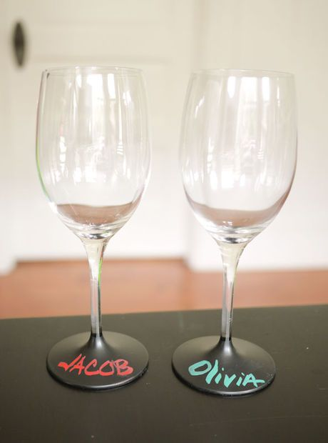 38 best contact paper countertops designs images on for Spray painting wine glasses