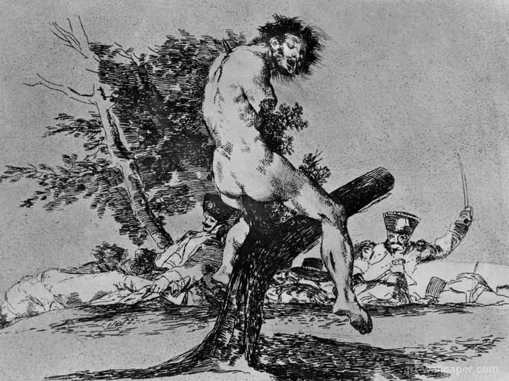 the disasters of war by Francisco Goya