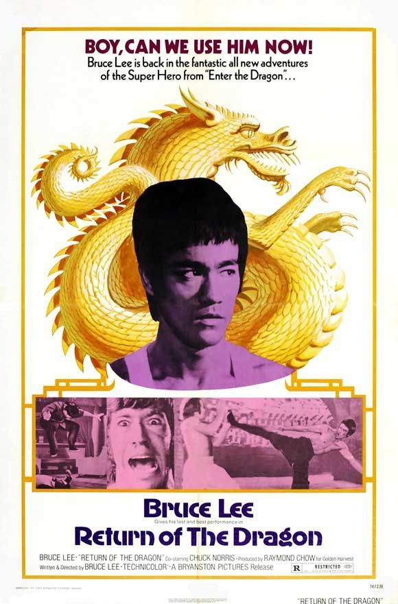 Return of the Dragon 27x40 Movie Poster (1972)