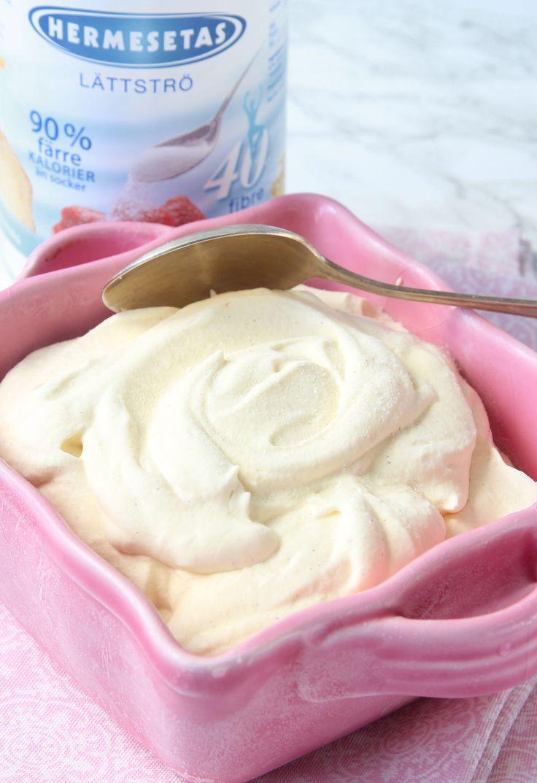 Lätt vaniljglass – Lindas Bakskola