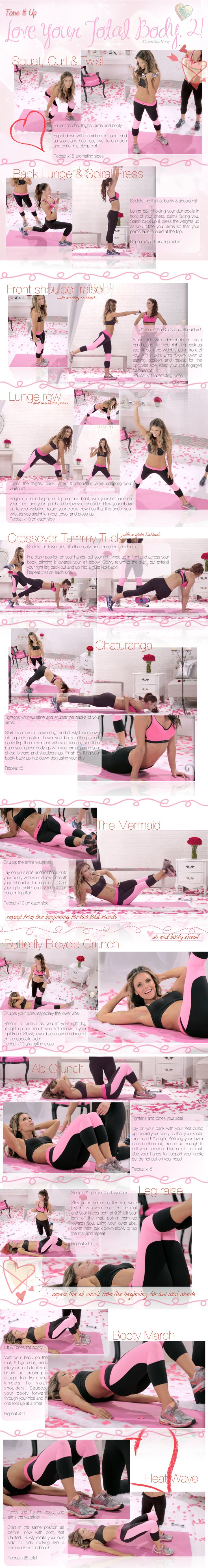 Get ready for Valentines Day with the Best total body workout!