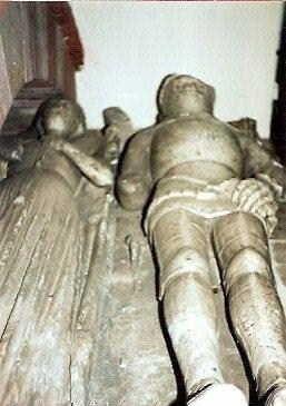 Joan Goushill 1401–1454  BIRTH 1401 • Hoveringham, Nottinghamshire, England DEATH 1454 NOV 21 • Lathom, Lancashire, England 18th great-grandmother. Burial: Burscough Priory, Burscough, Lancashire, England. Husband: Thomas Stanley 'Knight'