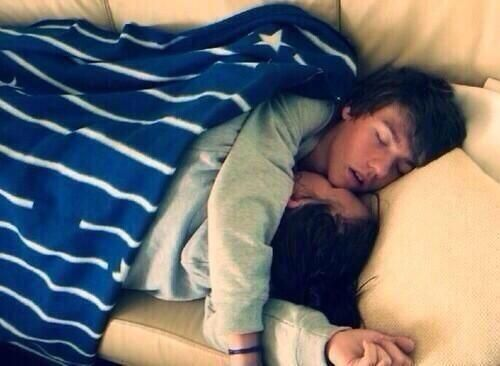 I want a relationship were I am so comfortable with someone that I can take naps with them like this