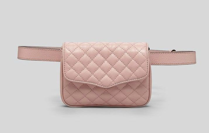 Rebecca Minkoff Quilted Affair Belt Bag, $136.50. (Also available in black here.)