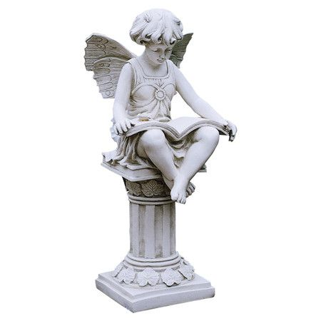 17 best images about cherubs on pinterest gardens Reading fairy garden statue