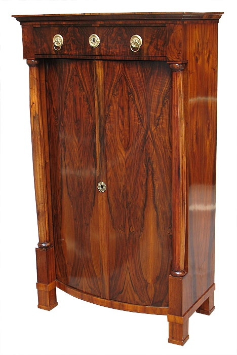 Biedermeier armoire austrian before 1825 furniture for Furniture 1825