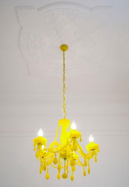 The 25 best yellow chandelier ideas on pinterest teal rooms interiordesign inspiration lighting yellow aloadofball Gallery