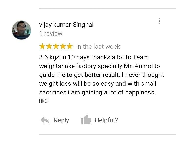 Vijay Singhal Lost 3.6 kgs in 10 days by following the Instant Weight Loss Diet Plan.  https://www.instagram.com/p/BcMd1DjDnyt/